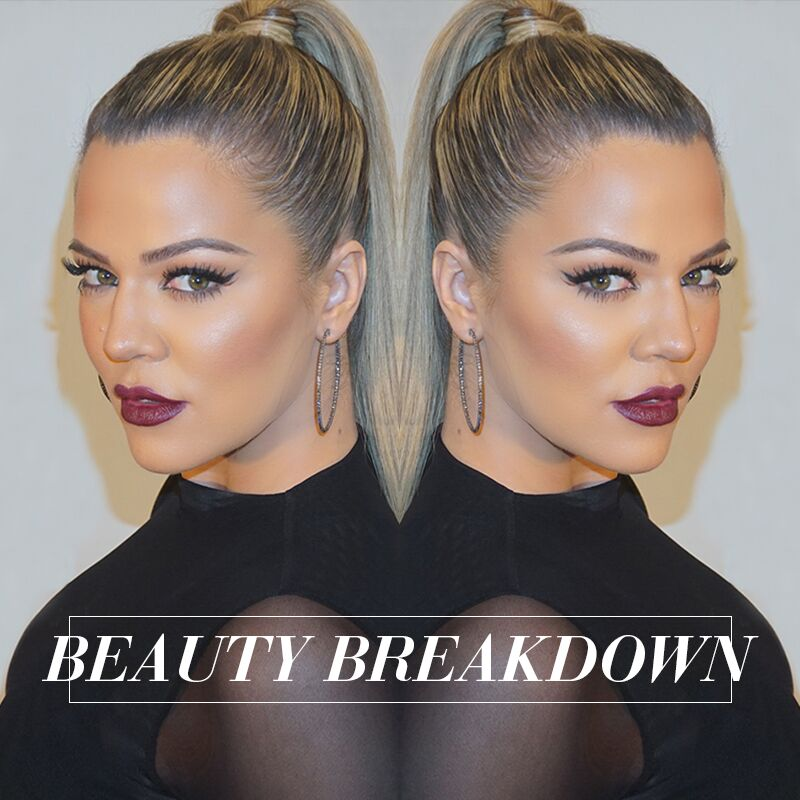 Beat by @HrushAchemyan for this look!!! Get the breakdown on khloewithak! https://t.co/v2tHcrTg2v https://t.co/FnqZkpyCu9