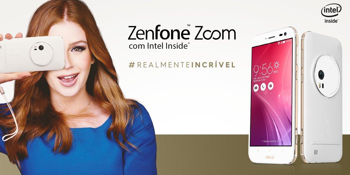 Zenfone Zoom, com zoom óptico de 3x.  Se tem Intel, tem experiências incríveis. https://t.co/n3dqtnFPKP #chegamais8 https://t.co/PyUVNdKwmy