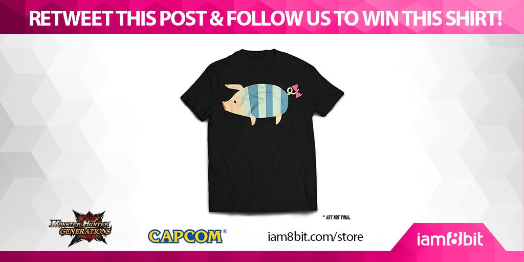 RETWEET or FOLLOW us to #win this Poogie T-Shirt! @Capcom_Unity @monsterhunter #MHGen https://t.co/gZemjEhyvw https://t.co/RPYIeNZvMA