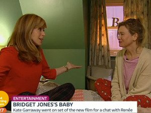 This Good Morning Britain / Renee Zellweger connection is pretty cool!