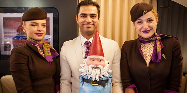 RT @RoamingGnome: Thanks to the @EtihadAirways cabin crew, you've exceeded my expectations by 40k feet. https://t.c…