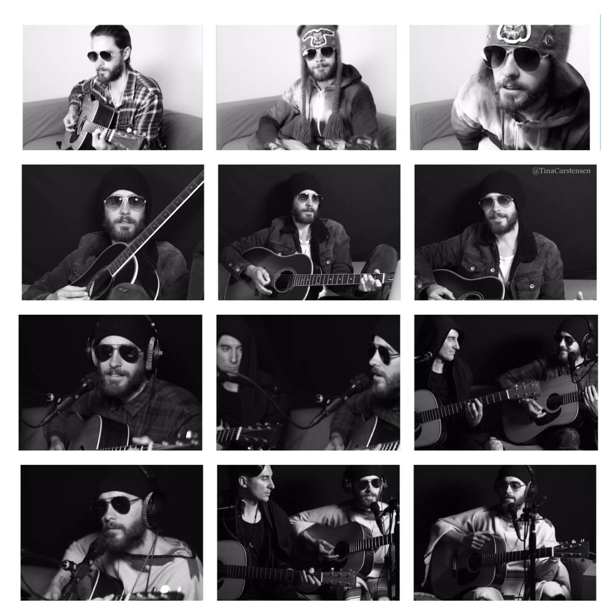 3 #VyRTviolets 1 soundcheck 1 live event - all within 2 weeks & only on @VyRT!   THANK YOU so much @JaredLeto!