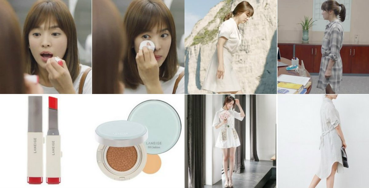 Raving #DescendantsOfTheSun #DOTS #태양의후예? Learn more about #SongHyeKyo 's #fashion style at⛅ https://t.co/ZoCyVav4Vu https://t.co/fNSlccsb9Y