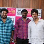 RT @proyuvraaj: #Thirunaal audio launch in #SuriyanFM  @Actorjiiva @thesrikanthdeva @SureJd https://t.co/HX4wBJtqq9