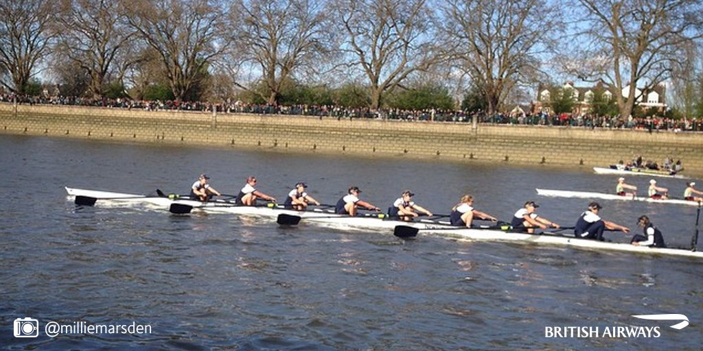 Visiting London for Easter? Watch the @theboatraces on Sunday to see Oxford Vs Cambridge!