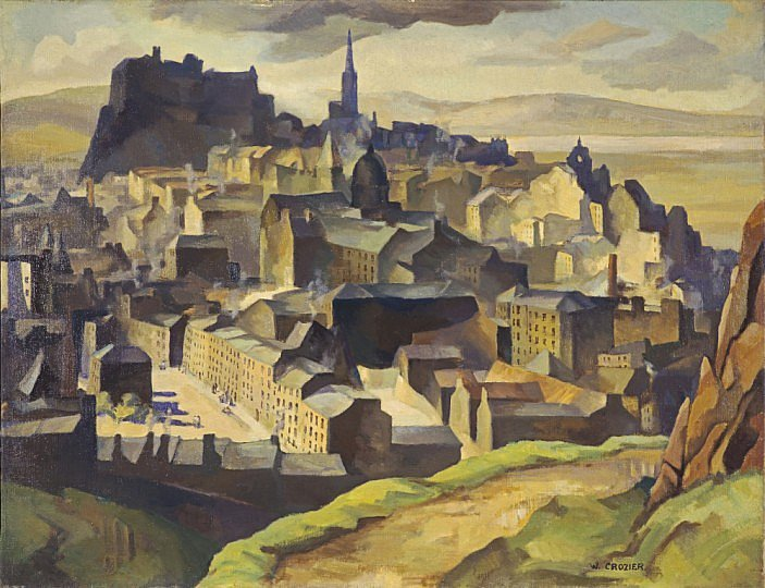 RT @NatGalleriesSco: This grand depiction of Edinburgh also reveals Crozier's strong affinities with Cubism https:/…