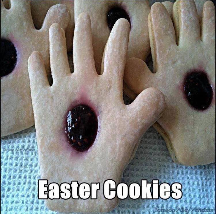 Happy easter, take a biscuit https://t.co/lIVm3VXjrp