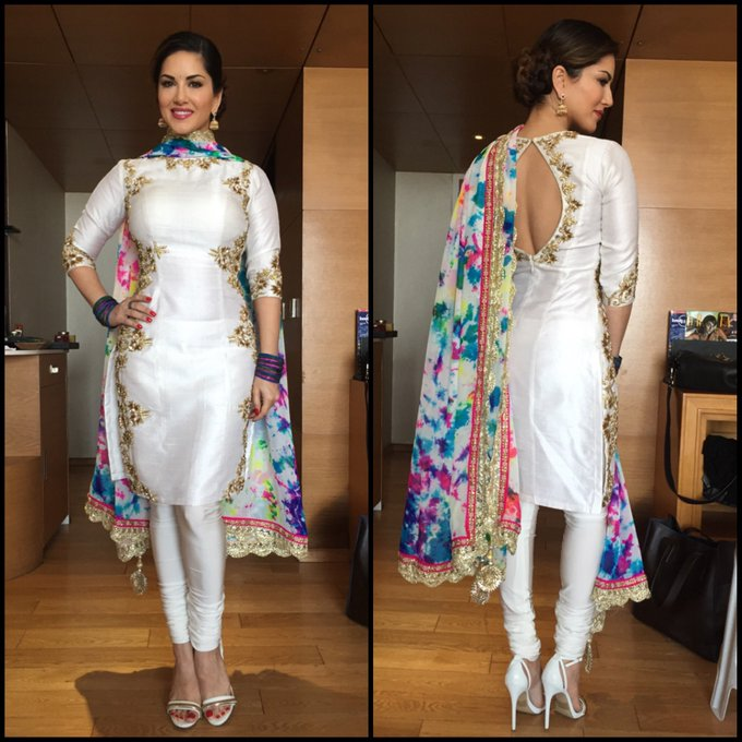 Thank you so much for this amazing Holi outfit @poonamskaurture and styling by @Bhakti_designer love