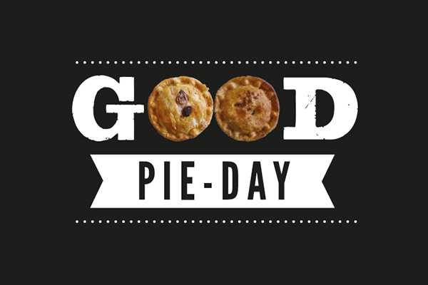 It's Good Pieday! RT to win a box of 6 pies (your choice). Winner will be announced on Tues #goodfriday #goodtimes https://t.co/DUl5Pld9Vs