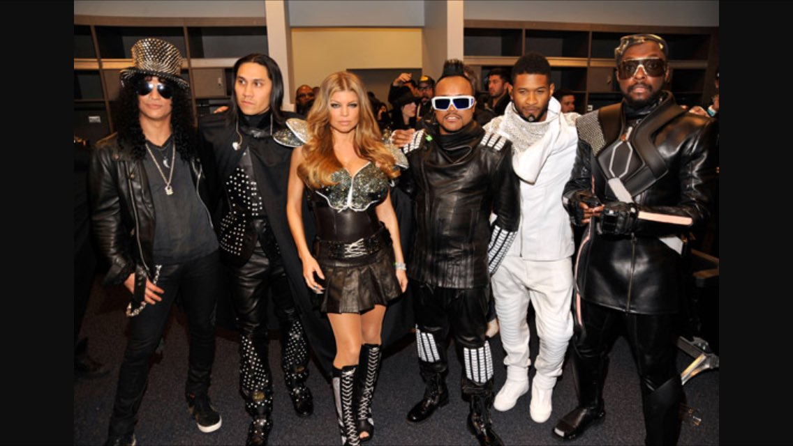 RT @TabBep: #fbf @Slash @Fergie @apldeap @Usher @iamwill #dreamteam https://t.co/AEXz6dEyMX
