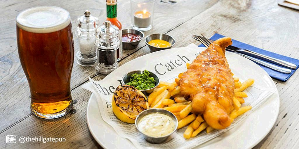 It's GoodFriday! Why not treat yourself to some traditional fish & chips in London?