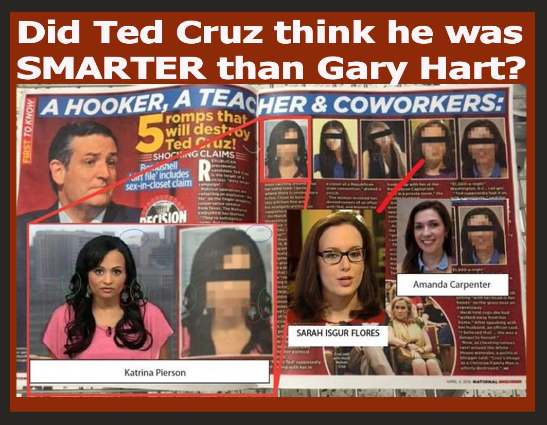 ★★Poor Ted's wife. She trusTED but then he cheaTED and now he's busTED and his campaign is Toast. #CruzSexScandal https://t.co/5HUW0lzMh0