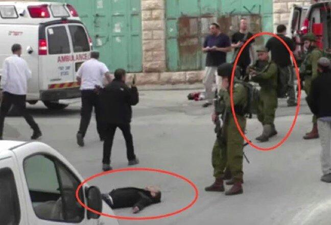 #StopSionismo Criminal de guerra: soldado sionista remata de un tiro en la cabeza a palestino que agoniza! https://t.co/84T9EzYJzx