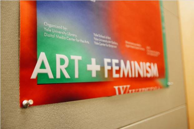@yaledailynews Edit-a-thon fights under-representation of female artists #ArtandFeminism
