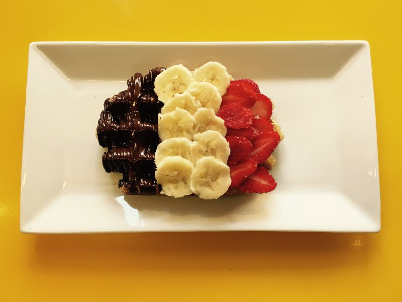 Happy #InternationalWaffleDay Bring a handmade rendition of a Belgian flag and you get a FREE waffle at any location https://t.co/d4baEsgrrk