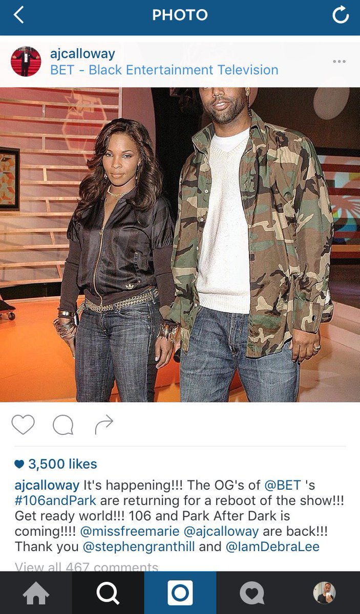 106 and Park is returning with AJ & Free