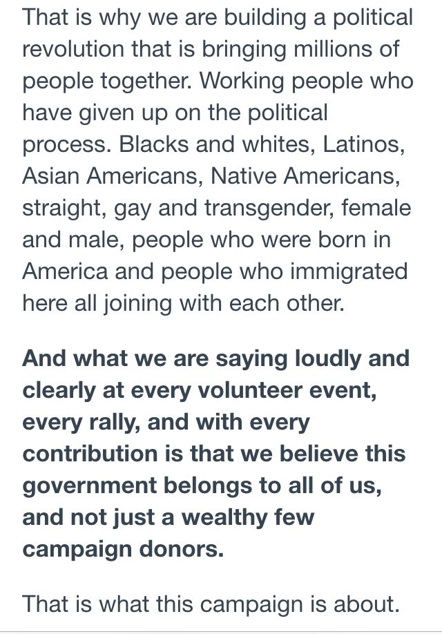 If you are undecided and listed in this message from @BernieSanders, then maybe.... https://t.co/B3zS51sgaY https://t.co/IWjTF8gAeN
