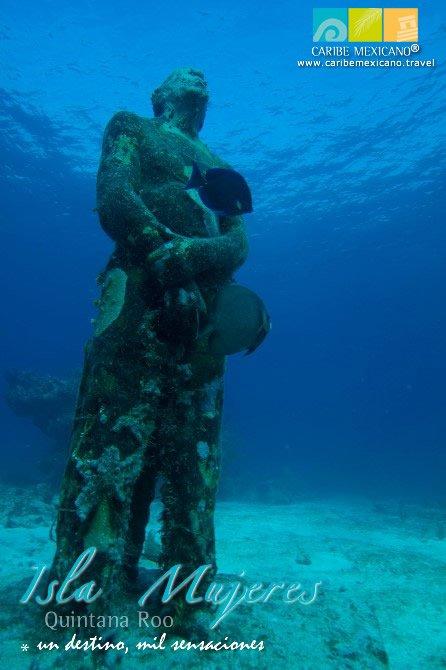 No pierdas la oportunidad de conocer un Museo de Arte bajo el mar de #IslaMujeres @MUSAmuseo https://t.co/fdKnMxtqj0