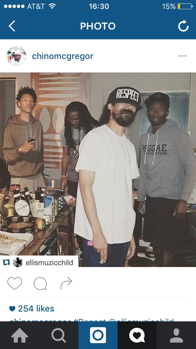Studio!!!!!!!!! Crazy sounds being invented right now! Ellis...gong...Chino and new artist majormijah https://t.co/ISskzyrROP