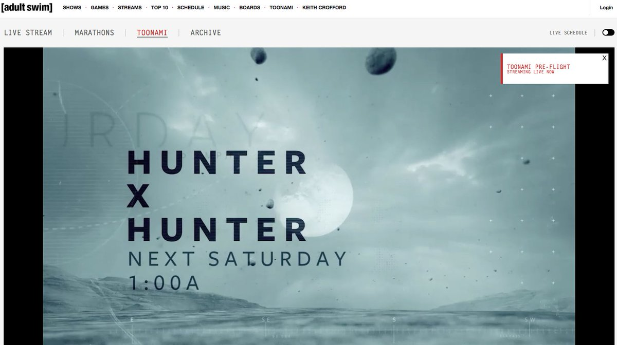 It Is Official! #HunterXHunter is going to be on #Toonami https://t.co/XTq1rwRB6U