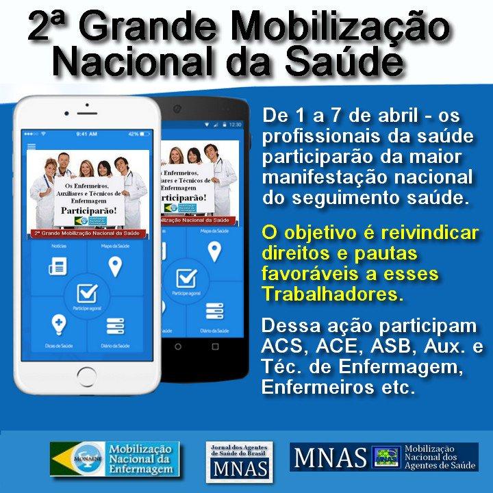 2ª Grande Mobilização Nacional da Saúde promete ocupar a página do @minsaude e de @dilmabr. https://t.co/dqaOQjgs2A https://t.co/grMTh9ujgy
