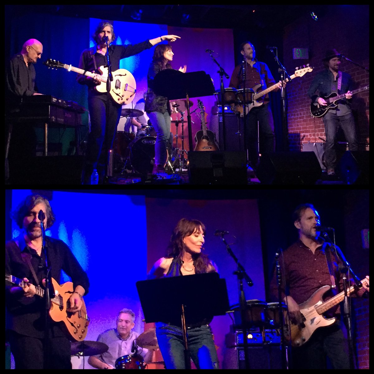 Hey @KateySagal I snapped these pics during your fab show on Wednesday! Thank you for the ticket @marshellefair