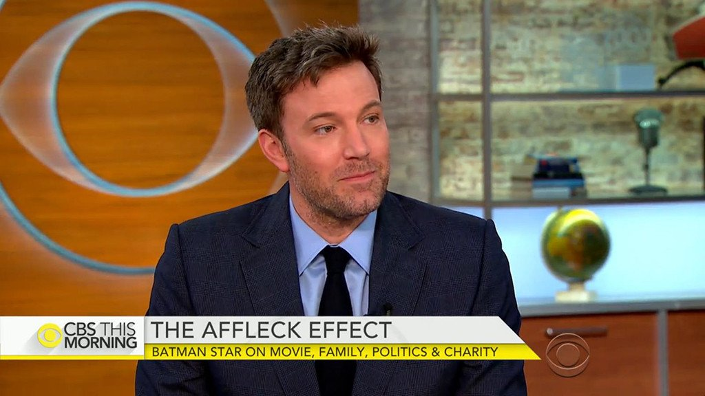 Ben Affleck says he is a