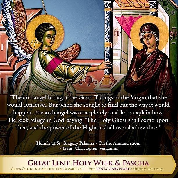 Today we commemorate Feast of the Annunciation of Our Most Holy Lady, the Theotokos and Ev… https://t.co/d4eKol4eFr https://t.co/fFDzXMJKvg