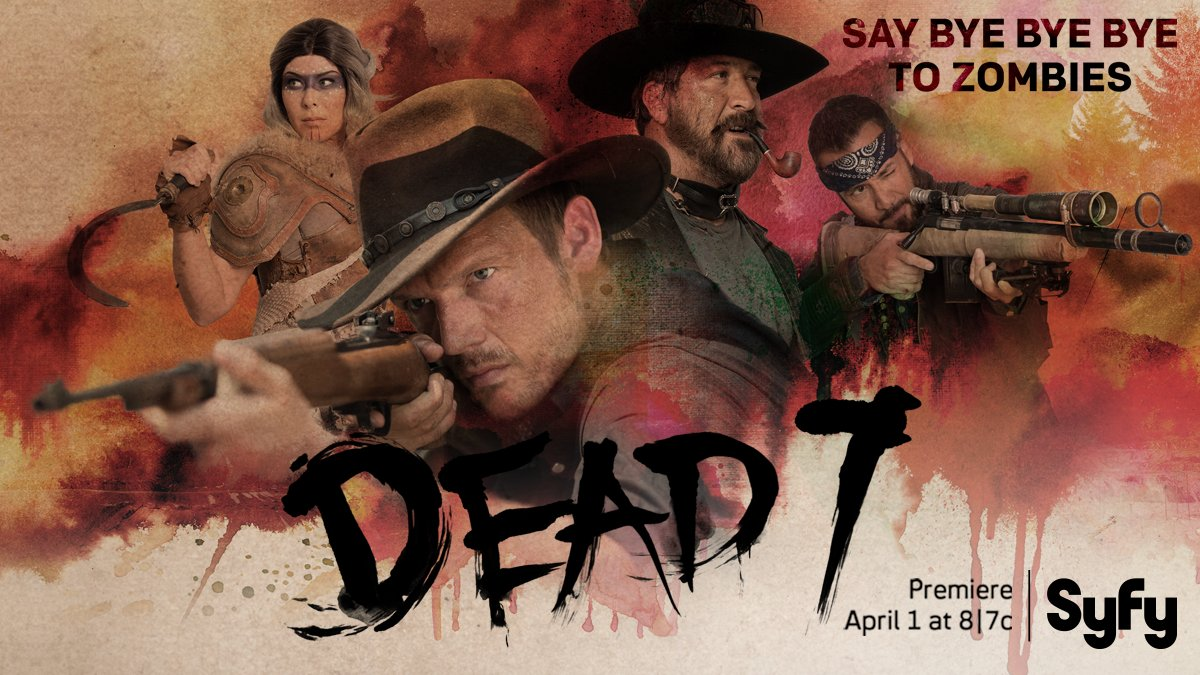 We don't care who you are, where you're from, what you did, as long as you watch #Dead7 on April 1st.