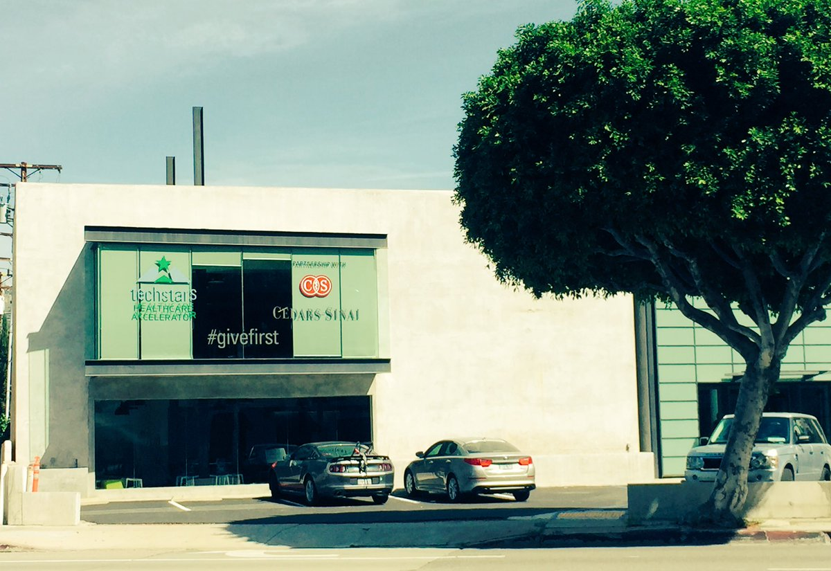 .@Techstars Healthcare in partnership w @CedarsSinai kicks off Monday right in the heart of West Hollywood #LongLA https://t.co/kkUjZjwmCH