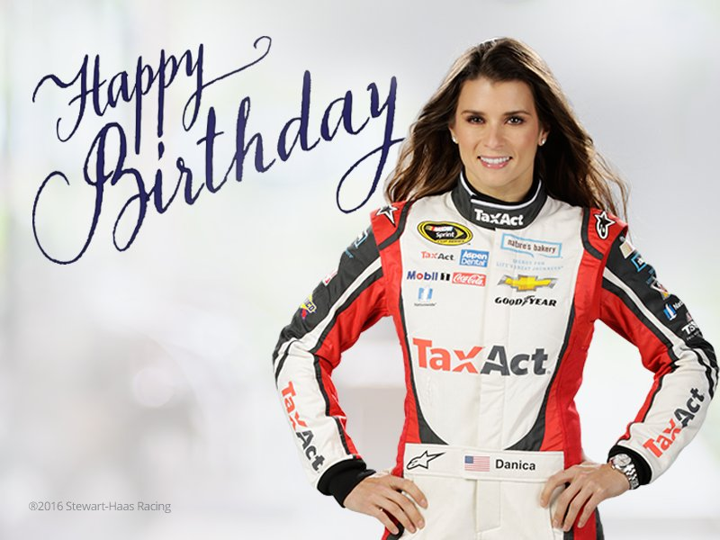 Happy Birthday to @DanicaPatrick! Retweet to show her some birthday love! https://t.co/3yM6rjkGpw