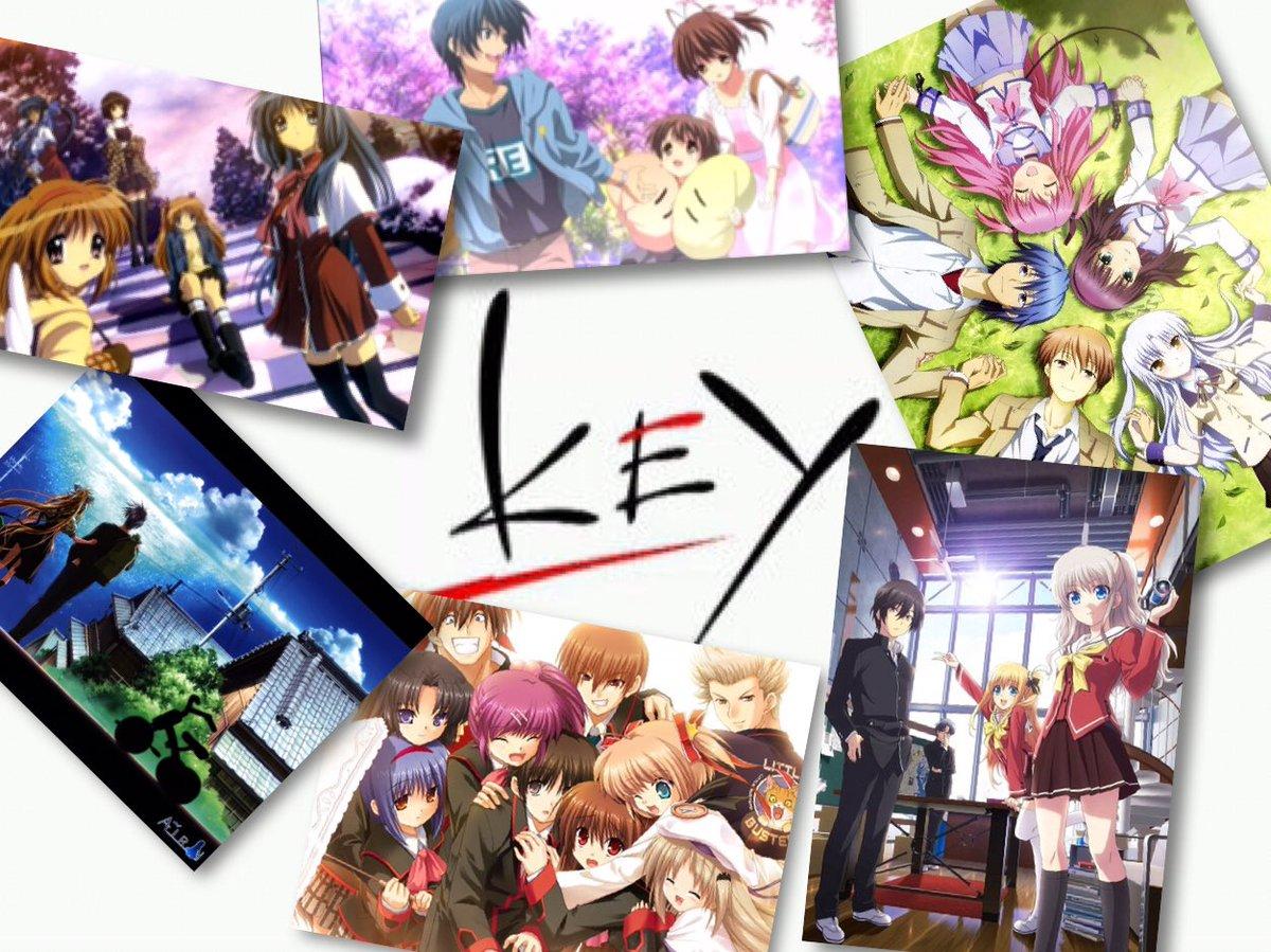 #鍵っ子新年の大フォロー祭りrtで広げようkeyの輪Key作品はいい!見たことない人にはもっと興味をもってもらいたい!今