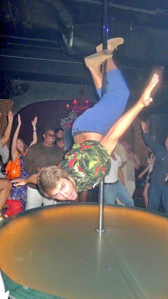 Nobody works the pole like you Mitchy... Happy Birthday big boy xxxx  @drew_mitchell https://t.co/cafs11EyOC