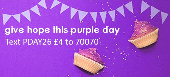 Happy Purple Day! What are you doing for your #PurpleDay to raise awareness of epilepsy? https://t.co/HJqtKDiWfQ