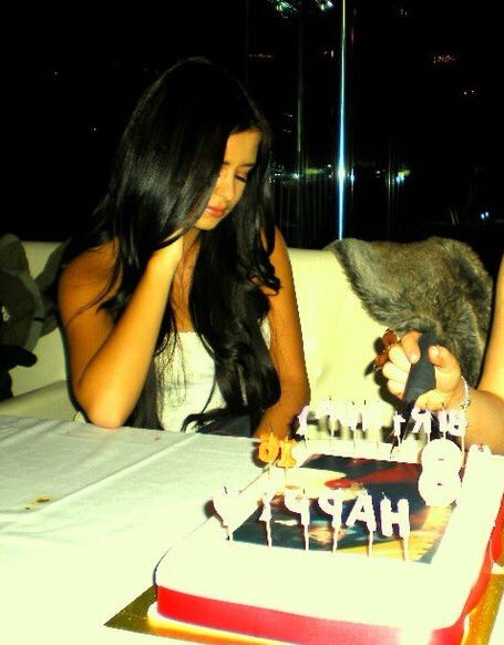 Omg funniest pic of me ever? This was my 18th. I cried because I wanted a photo blowing out candle &