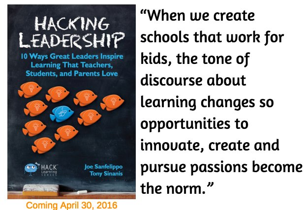 """When we create schools that work for kids, the tone of discourse about learning changes. . . "" #satchat https://t.co/sUCqmNYuro"