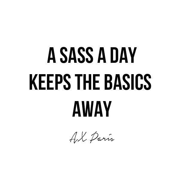 Sassy Life #lol #goodmorning #staysassy #qotd https://t.co/wS0fJ23YpR