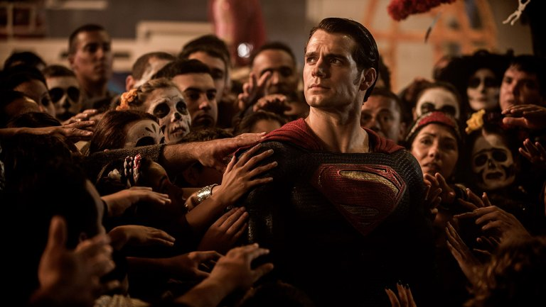 Ben Affleck and Henry Cavill in 'Batman v Superman: Dawn of Justice': Film Review