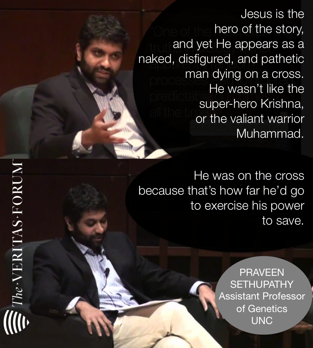 UNC genetics professor, Praveen Sethupathy, on what first attracted him to Jesus. https://t.co/YDTFskxXin