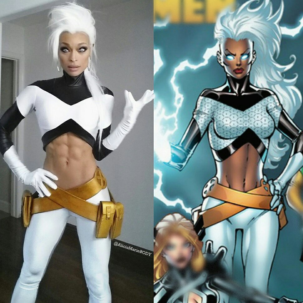 Heading to you NOW @WonderCon #xmen #storm ⚡