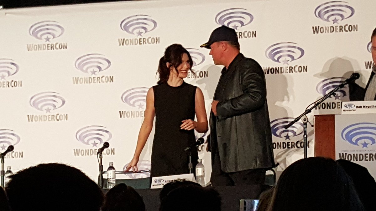 The lovely @BridgetRegan for the Last Ship panel at #WonderCon @StinaJane https://t.co/sTeAKCfmjd
