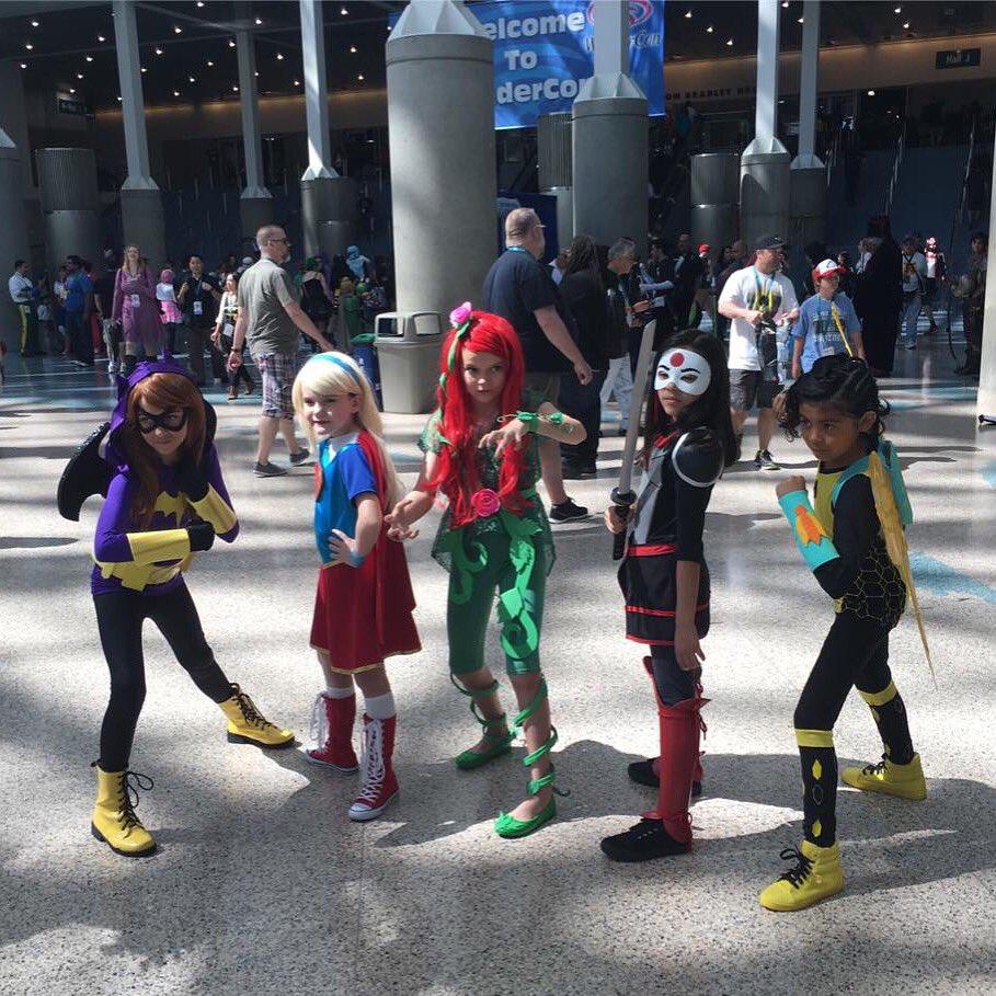 #DCSuperHeroGirls #WonderCon2016