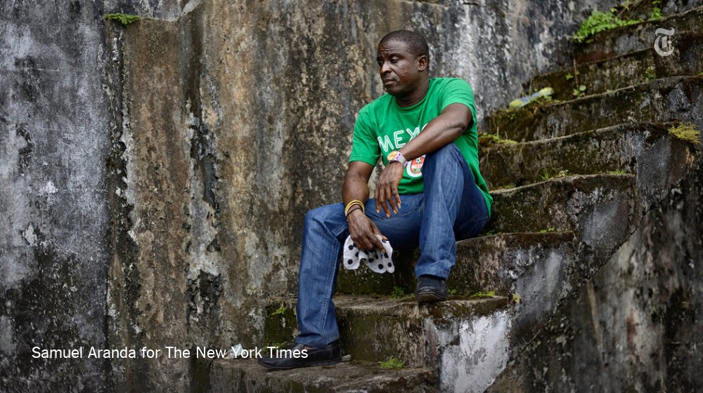 He emerged as an Ebola survivor to news that greets many: His family was dead.