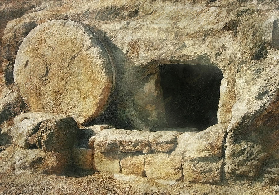 The tomb is EMPTY. Jesus Christ is risen and lives forever more. Happy Easter! https://t.co/FUeVz1IgOo