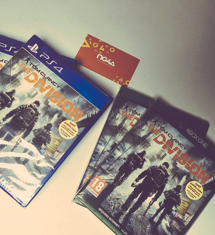 قيف اواي على لعبة The Division ثلاث نسخ PS4 و نسختين Xbox ! الشروط: فولو+ريتويت+ اكتب نسختك بهشتاق #خذلك_ديفجن_سفري https://t.co/wxirCF2kv0