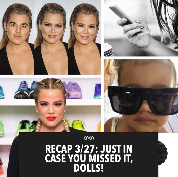 Check out what you may have missed this week on khloewithak!!! https://t.co/up6578y3rp https://t.co/wLUH5EelkD