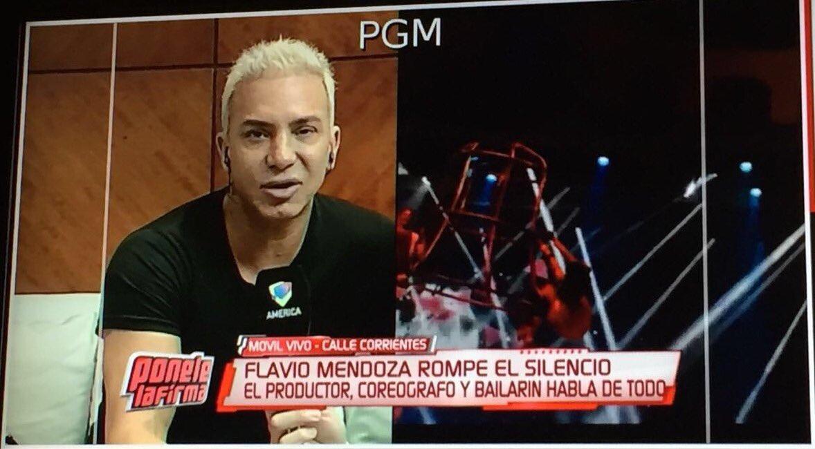 Ahora @flaviomendoza en Ponele La Firma con @MarceloPolino por @AmericaTV https://t.co/RpVlVDuLPu