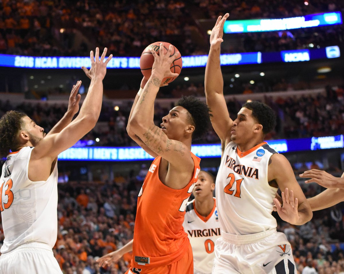 No. 10 Syracuse upsets No. 1 UVA, 4th double-digit seed ever to reach NCAA