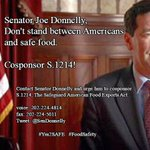 .@SenDonnelly @IUBloomington @BillMoyers @BillmoyersHQ @politico @foodsafeguru @SenateDems #Yes2SAFE #FoodSafety https://t.co/6d28Z6ejKj