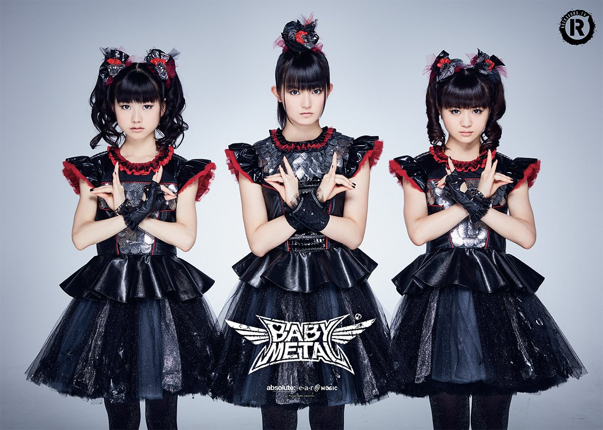 There's a HUGE double-sided BABYMETAL poster inside every physical magazine. https://t.co/GGrs59p...